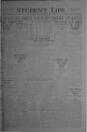 Student Life, November 5, 1920, Vol. 19, No. 8