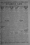 Student Life, November 12, 1920, Vol. 19, No. 9