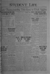 Student Life, December 3, 1920, Vol. 19, No. 11