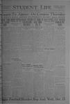 Student Life, December 10, 1920, Vol. 19, No. 12