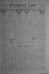 Student Life, December 17, 1920, Vol. 19, No. 13