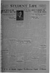 Student Life, February 4, 1921, Vol. 19, No. 18