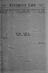 Student Life, February 18, 1921, Vol. 19, No. 20