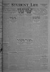 Student Life, March 18, 1921, Vol. 19, No. 23