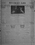 Student Life, March 25, 1921, Vol. 19, No. 25