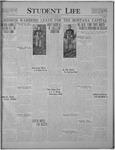 Student Life, October 28, 1921, Vol. 20, No. 7