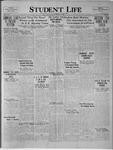 Student Life, October 24, 1923, Vol. 22, No. 5