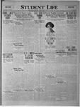 Student Life, November 21, 1923, Vol. 22, No. 9