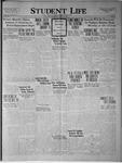 Student Life, December 19, 1923, Vol. 22, No. 12