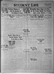 Student Life, February 14, 1924, Vol. 22, No. 18