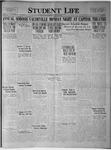 Student Life, February 27, 1924, Vol. 22, No. 20