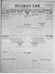 Student Life, October 22, 1924, Vol. 23, No. 4
