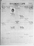 Student Life, December 10, 1924, Vol. 23, No. 11