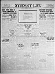 Student Life, December 17, 1924, Vol. 23, No. 12