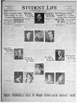 Student Life, January 21, 1925, Vol. 23, No. 15