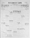 Student Life, October 7, 1925, Vol. 24, No. 2