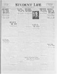 Student Life, November 5, 1925, Vol. 24, No. 6