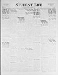 Student Life, November 11, 1925, Vol. 24, No. 7