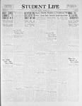 Student Life, December 2, 1925, Vol. 24, No. 10