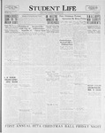 Student Life, December 9, 1925, Vol. 24, No. 11