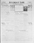 Student Life, December 16, 1925, Vol. 24, No. 11