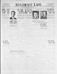 Student Life, January 27, 1926, Vol. 24, No. 16
