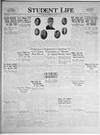 Student Life, February 11, 1925, Vol. 23, No. 18