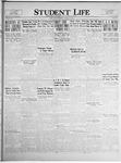 Student Life, February 25, 1925, Vol. 23, No. 20