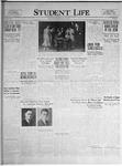 Student Life, March 18, 1925, Vol. 23, No. 22