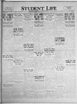 Student Life, March 25, 1925, Vol. 23, No. 23