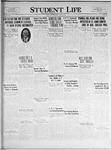 Student Life, April 13, 1925, Vol. 23, No. 26