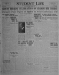 Student Life, October 8, 1926, Vol. 25, No. 2