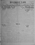 Student Life, November 11, 1926, Vol. 25, No. 7
