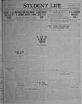 Student Life, November 19, 1926, Vol. 25, No. 8