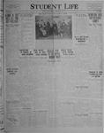 Student Life, December 3, 1926, Vol. 25, No. 9