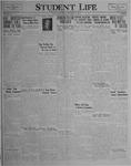 Student Life, December 17, 1926, Vol. 25, No. 11