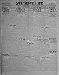 Student Life, January 21, 1927, Vol. 25, No. 14