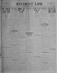 Student Life, February 4, 1927, Vol. 25, No. 16