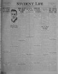 Student Life, February 18, 1927, Vol. 25, No. 18