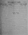 Student Life, April 1, 1927, Vol. 25, No. 22