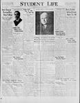 Student Life, November 10, 1928, Vol. 27, No. 8