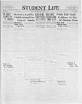 Student Life, March 31, 1926, Vol. 24, No. 23