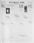 Student Life, May 7, 1926, Vol. 24, No. 28