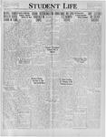 Student Life, June 21, 1929, Vol. 27, No. 29