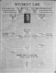 Student Life, October 9, 1929, Vol. 28, No. 2