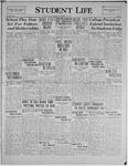 Student Life, October 23, 1929, Vol. 28, No. 4