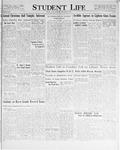 Student Life, December 18, 1930, Vol. 29, No. 9