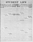 Student Life, January 22, 1932, Vol. 30, No. 10