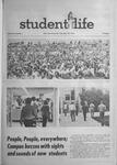 Student Life, September 28, 1970, Vol. 68, No. 1