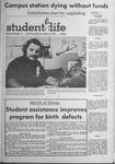 Student Life, October 19, 1970, Vol. 68, No. 10